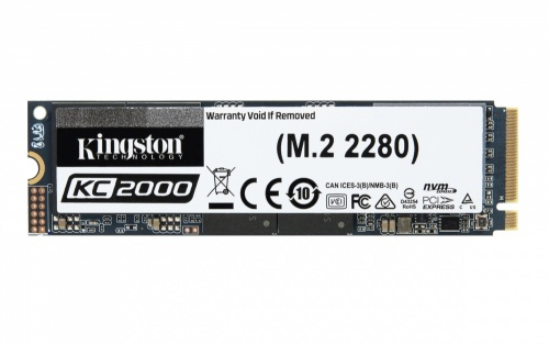 SSD Kingston KC2000, 2TB, PCI Express 3.0, M.2