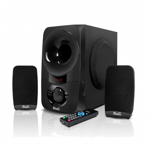 Klip Xtreme BluPulse Estéreo, Bluetooth, 20W RMS, USB, Negro
