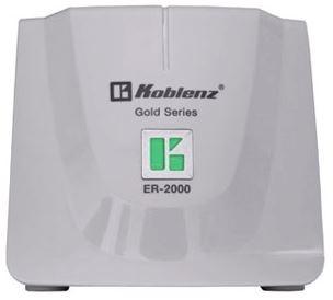 Regulador Koblenz ER-2000, 134J, 800W, 2000VA, Entrada 95-145V, 8 Contactos