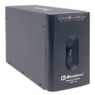 No Break Koblenz 13507-USB/R, 800W, 1350VA, Entrada 95-140V, Salida 120V