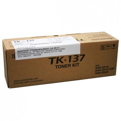 Tóner Kyocera TK-137 Negro, 7000 Páginas