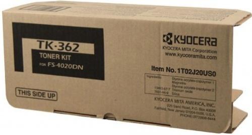 Tóner Kyocera TK-362 Negro, 20.000 Páginas
