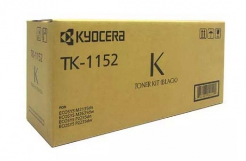 Tóner Kyocera TK-1152 Negro, 3000 Páginas