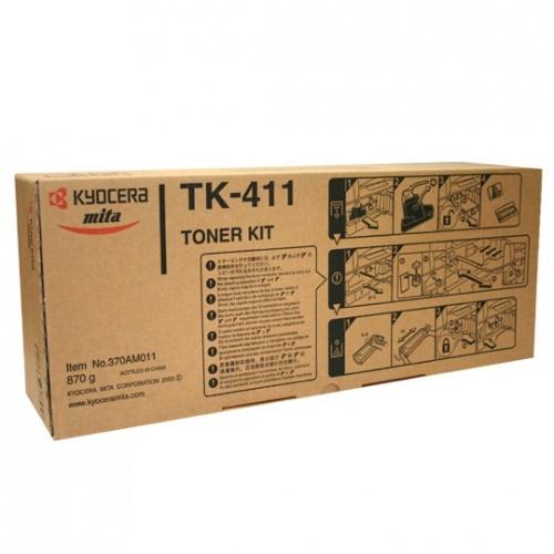Tóner Kyocera TK-411 Negro, 15.000 Páginas