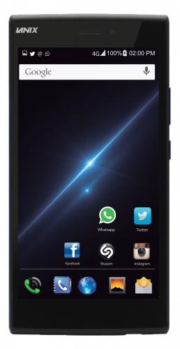 Smartphone Lanix Ilium L1000 5.5'', 3G/4G, Android 5.1, Negro