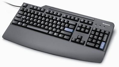 Teclado Lenovo Preferred Pro, Alámbrico, USB, Negro (Español)