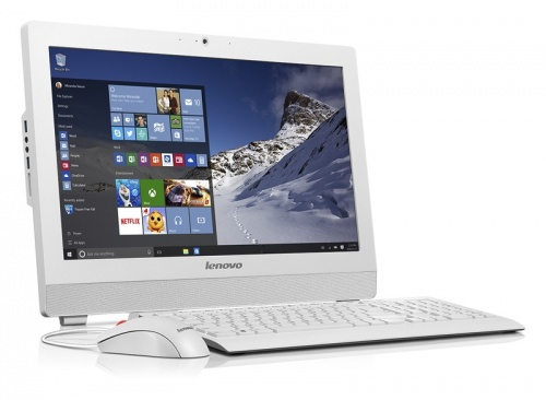 "Lenovo S200z All-in-One 19.5"", Intel Pentium J3710 1.60GHz, 4GB, 500GB, Windows 10 Home 64-bit, Blanco"
