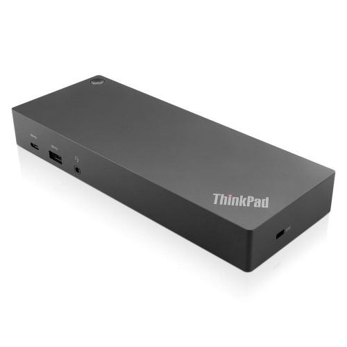 Lenovo Docking Station ThinkPad Hibrido USB 3.0 C, 3x USB 3.0 A, 1x USB 3.0 C, 2x HDMI