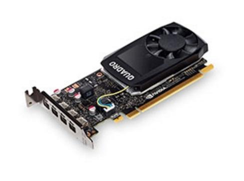 Tarjeta de Video Lenovo NVIDIA Quadro P1000, 4GB 128-bit GDDR5, PCI Express 3.0, Bracket HP