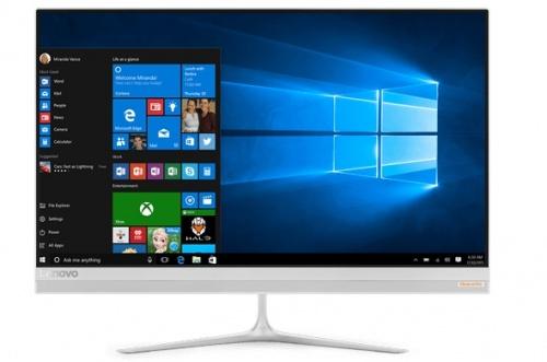 """Lenovo IdeaCentre 510S All-in-One 23"""", Intel Core i5-6200U 2.30GHz, 16GB, 1TB, Windows 10 Home 64-bit, Plata"""