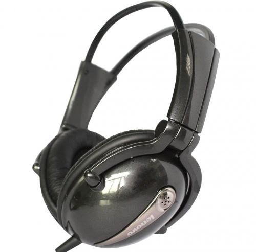 Lenovo Audífonos P723N, Alámbrico, 3.5mm, Negro