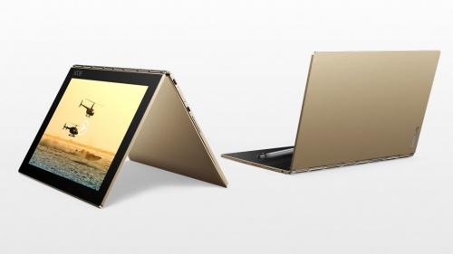 Tablet Lenovo Yoga Book 10.1'', 4GB, 1920 x 1200 Pixeles, Android 6.0, Bluetooth, Oro