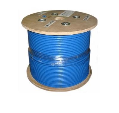 Leviton Bobina de Cable Cat6a, 305 Metros, Azul