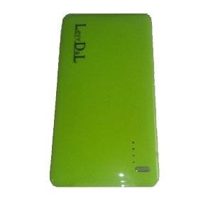 Cargador Portátil LevyDal 81067, 5000mAh, Verde