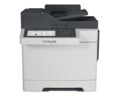 Multifuncional Lexmark CX510de, Color, Láser, Inalámbrico (necesita Adaptador), Print/Scan/Copy/Fax