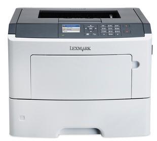 Lexmark MS610dn, Blanco y Negro, Láser, Print