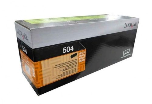 Tóner Lexmark Programa Retorno 50F4000 Negro, 1500 Páginas
