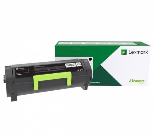 Tóner Lexmark 58D4000 Programa Retorno Extra Alto Rendimiento Negro, 7500 Páginas