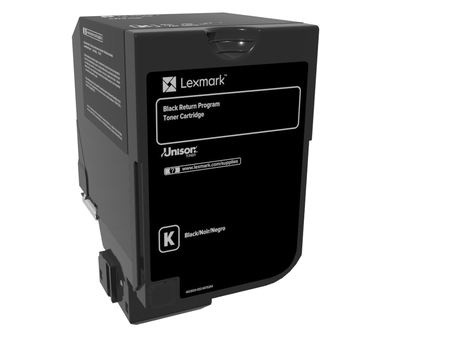 Cartucho Lexmark 74C10K0 Negro, 3000 Páginas