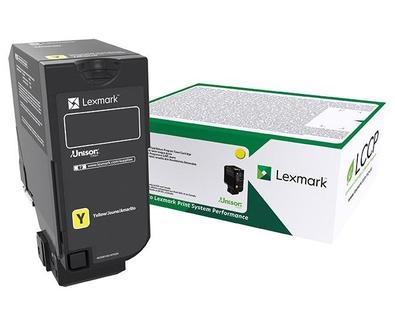 Tóner Lexmark 84C4HY0 Amarillo, 16.000 Páginas