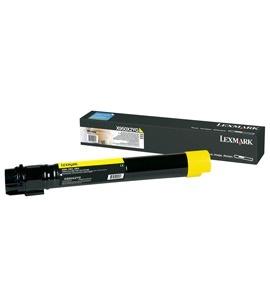 Tóner Lexmark X950X2YG Amarillo, 24.000 Páginas