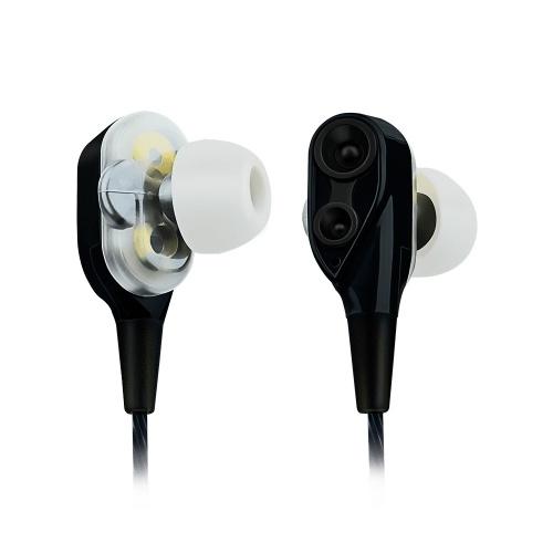 LFAcoustics Audífonos Intrauriculares con Micrófono Hi-Fi Hit, Alámbrico, 1.2 Metros, 3.5mm, Negro