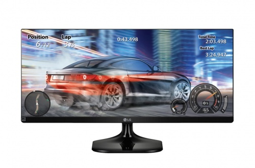 Monitor LG 29UM58-P LED 29'', FullHD, UltraWide, HDMI, Negro