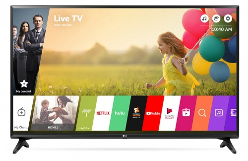 LG Smart TV LED 49LJ5500 49'', Full HD, Widescreen, Negro