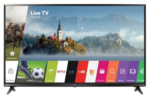 LG Smart TV LED 60UJ6300 60'', 4K UltraHD, Widescreen, Negro