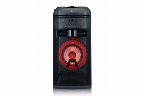 LG OK55 Mini Componente, Bluetooth, 700W RMS, USB 2.0, Karaoke, Negro