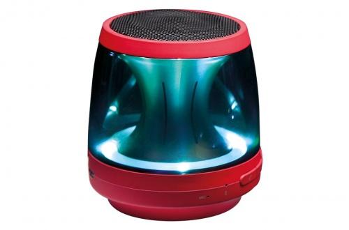 LG Bocina Portátil PH1R, Bluetooth, Inalámbrico, 2W RMS, USB, Rojo