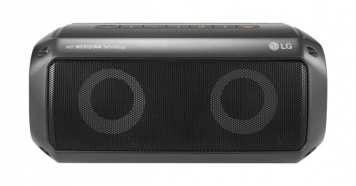 LG Bocina Portátil XBOOM Go, Bluetooth, Alámbrico/Inalámbrico, 16W, Negro Resistente al Agua