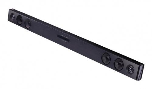 LG Barra de Sonido con Subwoofer SJ3, Bluetooth, Inalámbrico, 2.1, 100W RMS, USB 2.0, Negro