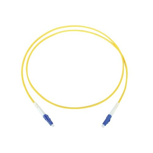 LinkedPRO Cable Fibra Óptica Monomodo LC Macho - LC Macho, 1 Metro, Amarillo