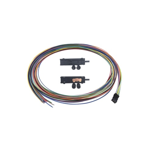 LinkedPRO Cable de Fibra Óptica Multimodo, 12 Fibras, 1 Metro