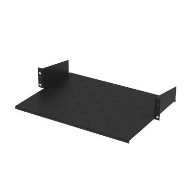 LinkedPRO Charola Rack Plate para Rack 19'', 2U, hasta 10kg, Negro