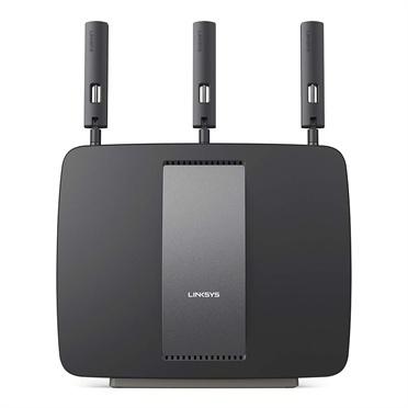 Router Linksys Gigabit Ethernet Tri-Banda AC3200, Inalámbrico, 3200 Mbit/s, 2.4/5/5GHz, 4x RJ-45 ― ¡Compra y recibe $165 pesos de saldo para tu siguiente pedido!