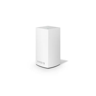 Router Linksys con Sistema de Red Wi-Fi en Malla Velop AC1300, 1267 Mbit/s, 2.4/5GHz, 2x RJ-45