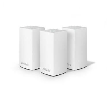 Router Linksys con Sistema de Red Wi-Fi en Malla Velop AC3900, 1267 Mbit/s, 2.4/5GHz, 2x RJ-45 - Kit de 3 Piezas ― ¡Compra y recibe $100 pesos de saldo para tu siguiente pedido!