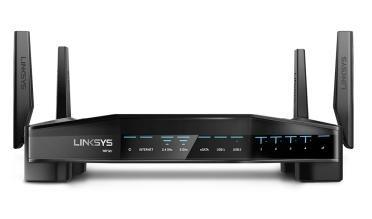 Router Gamer Linksys de Gigabit Ethernet WRT32X AC3200 con Killer Prioritization Engine, Inalámbrico, 2.4/5GHz, 4x RJ-45, 4 Antenas ― ¡Optimizado para Gaming!