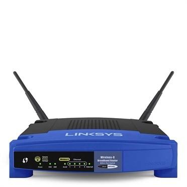 Router Linksys de Banda Ancha WRT54GL, Inalámbrico, 54 Mbit/s, 4x RJ-45