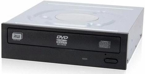 Lite-On IHAS122-04 Quemador de DVD, DVD-R, 22x / CD 48x, SATA, Interno, Negro (Bulk)