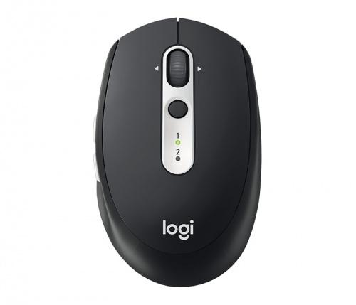 Mouse Logitech Óptico M585, RF Inalámbrico, Bluetooth, 1000DPI, Grafito/Plata