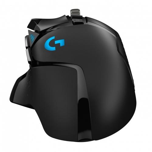 Mouse Gamer Logitech Óptico G502 Hero RGB, Alámbrico, USB, 16.000DPI, Negro