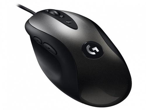 Mouse Gamer Logitech Óptico G MX518, Alámbrico, USB, 16000DPI, Negro/Gris