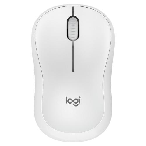 Mouse Logitech Óptico M220 Silent, Alámbrico, USB A, 1000DPI, Blanco