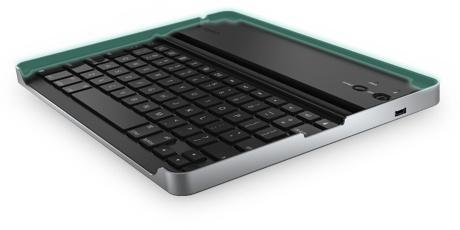 Logitech Caja de Teclado para iPad, Bluetooth, Negro/Plata (Inglés)