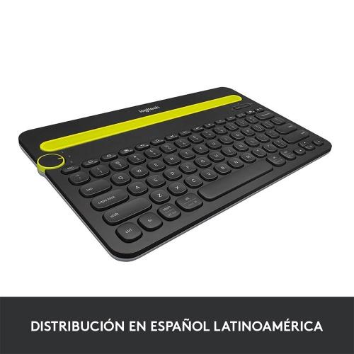 Teclado Logitech K480 Multiplataforma, Inalámbrico, Bluetooth, Negro (Español)