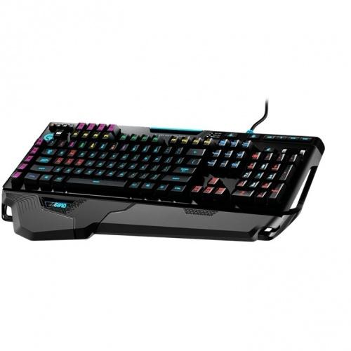 Teclado Gamer Logitech G910 Orion Spark RGB, Teclado Mecánico, Alámbrico, USB, Negro, (Inglés)