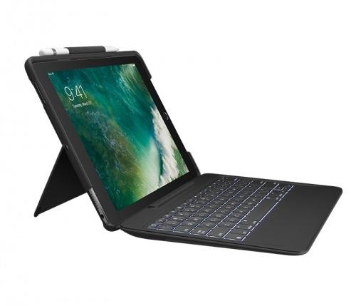 Logitech Funda con Teclado para iPad Pro 10.5'', Negro